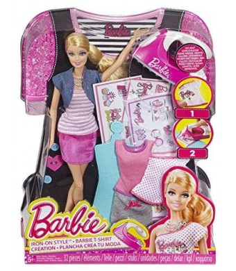 Barbie Iron-On Style Doll