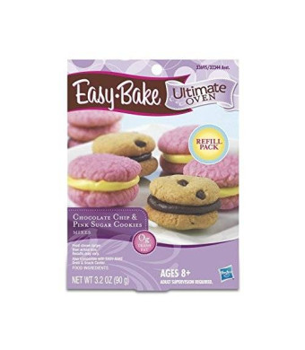 Easy Bake Easy-Bake Refill Cookie Chocolate Chip and Pink Sugar Cookies