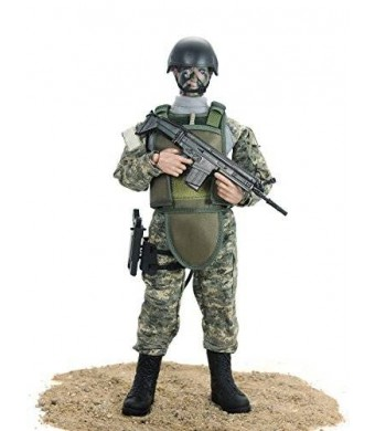 Super System 12'' Special Forces Action Figure - ACU