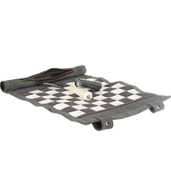 Sondergut Roll-up Travel Games Chess and Checkers Board Game