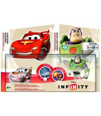 Disney Interactive Studios Disney Infinity TRU Exclusive Race to Space Pack with Crystal Lightning McQueen