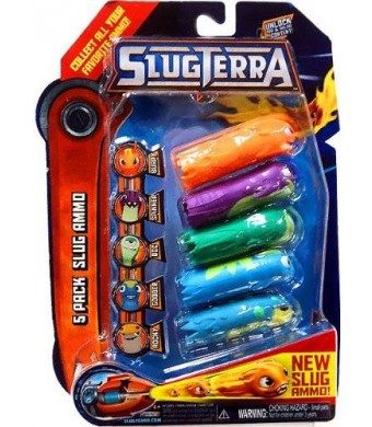 Slugterra Slug Ammo Set 5 Pieces and Online Code
