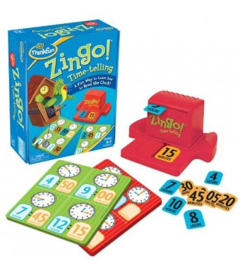 Think Fun Zingo Time-Telling Board Game