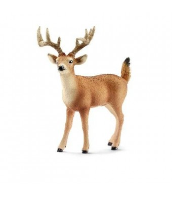 Schleich White-Tailed Buck Toy Figure