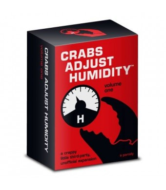Vampire Squid Cards Crabs Adjust Humidity - Vol One