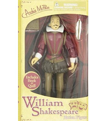 Accoutrements William Shakespeare Action Figure