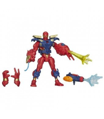 Unknown Marvel Super Hero Mashers Electronic Iron Spider Figure - 6 Inches