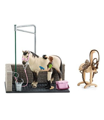 Schleich Horse Wash Area