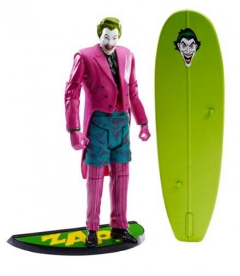 Mattel Batman Classic TV Series Surfing Joker Collector Action Figure