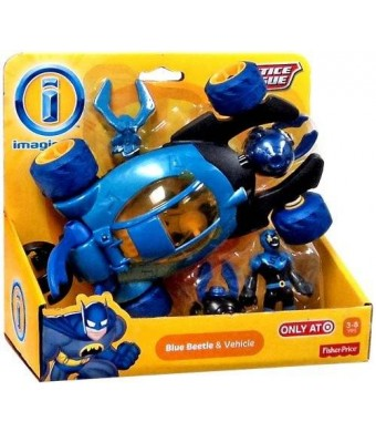 Imaginext, Justice League, Exclusive Blue Beetle and Vehicle