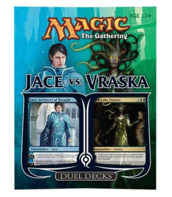 Wizards of the Coast Magic the Gathering: Jace Vs. Vraska Duel Deck