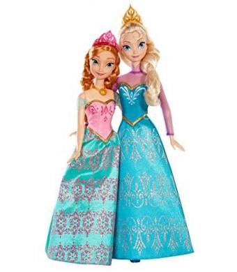 Mattel Disney Frozen Royal Sisters Doll (2-Pack)