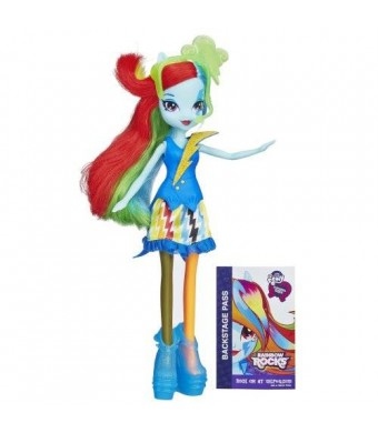 My Little Pony Equestria Girls Rainbow Dash Doll (Neon Rainbow Rocks)