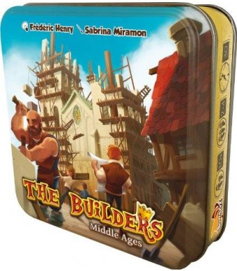 Asmodee The Builders Middle Ages