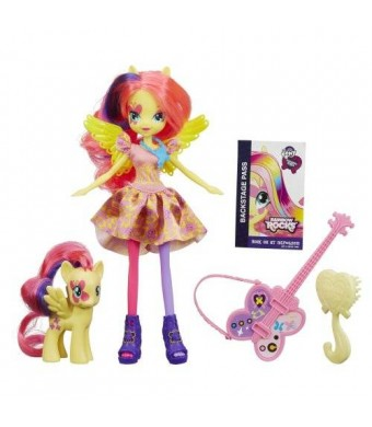 My Little Pony Equestria Girls Fluttershy Doll and Pony Set