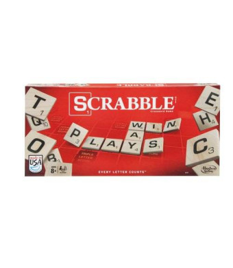 Hasbro Scrabble Classic Crossword New Game