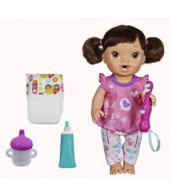 BaAlive Baby Alive Brushy Brushy Baby Doll - Brunette