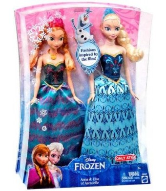 Disney Frozen Anna and Elsa Fashion Doll 2-Pack Limited Distribution