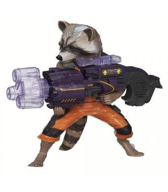 Marvel Guardians of The Galaxy Big Blastin' Rocket Raccoon Figure, 10 Inch