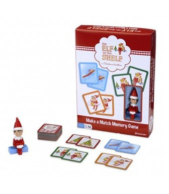 Pressman Toy Elf on the Shelf Make-a-Match Game -- Based on the Bestselling Books