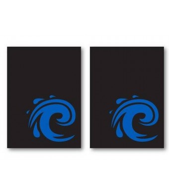 100 Iconic Water Blue Deck Protectors Legion Supplies Art Printed Sleeves 2-Packs - Standard Magic the Gathering Size