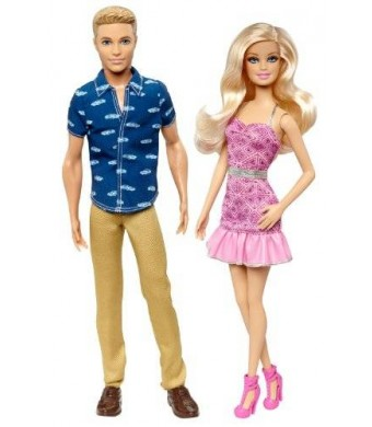 Barbie and Ken Date Night Doll (2-Pack)