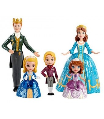 Mattel Disney Sofia The First Royal Family Small Doll Set