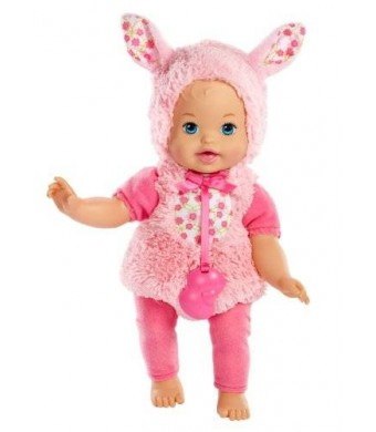 Little Mommy Dress Up Cutie Bunny Doll