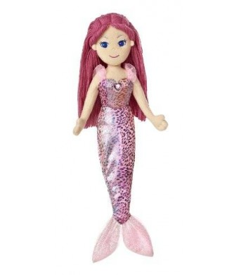 "Aurora World Sea Sparkles Mermaid Maryn Doll, 17"" Tall"