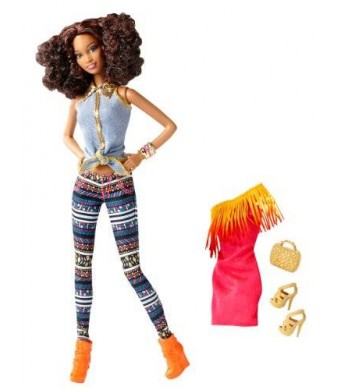 Barbie So In Style Tricelle Doll and Fashion Gift Set