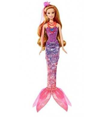 Barbie and The Secret Door Transforming 2-in-1 Mermaid Doll