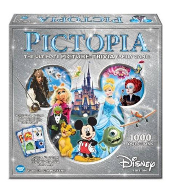 Wonder Forge Pictopia-Family Trivia Game: Disney Edition