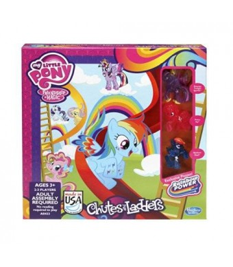 Hasbro My Little Pony Chutes and Ladders Game