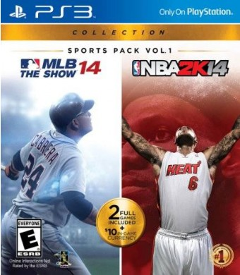 Sony PlayStation Sports Pack Vol. 1 - MLB 14 The Show / NBA2K14 - PlayStation 3