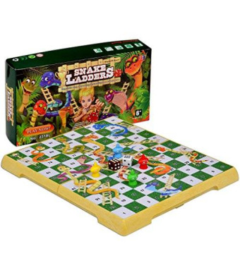 Yellow Mountain Imports Magnetic Snakes and Ladders Set - Medium