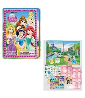Lee Publications Disney Princess: Magnetic Fun Full Size Tin