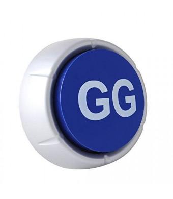 Good Game Button - GG Button - Blue