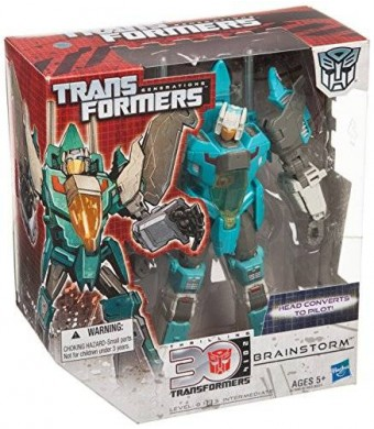 Transformers Generations Voyager Brainstorm