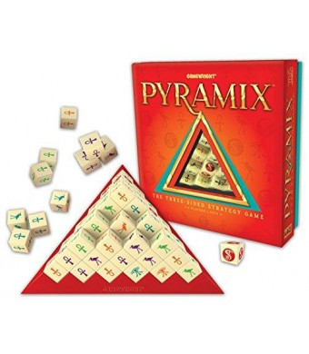 Gamewright Pyramix - The Three Sided Strategy Game