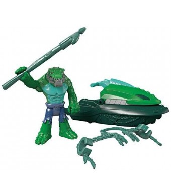 Fisher-Price Imaginext DC Super Friends K. Croc and Swamp Ski Action Figure