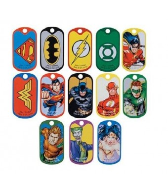 DC Comics DC Comic Super Hero Dog Tags (2 Dozen)