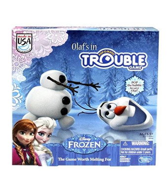 Hasbro Frozen Olaf's in Trouble Game