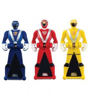 Power Rangers Super Megaforce - RPM Legendary Ranger Key Pack, Red/Blue/Yellow