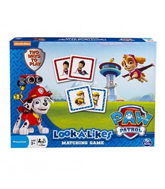 Spin Master Games Paw Patrol Look a Likes Matching Board Game