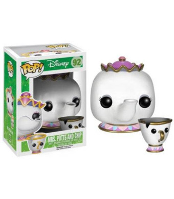 Funko POP Disney: Mrs. Potts and Chip Action Figure