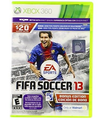 Electronic Arts FIFA SOCCER 13 (Game and Manual English / Spanish, Game Package in Spanish ONLY) XBOX 360 NEW
