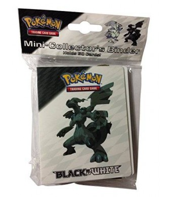 Pokémon Pokemon Mini Binder Featuring Zekrom and Reshiram from Black and White (Album Holds 60 Cards)