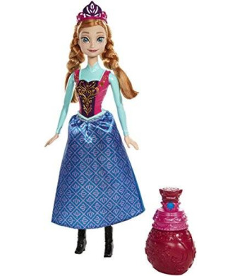 Mattel Disney Frozen Royal Color Change Anna Doll