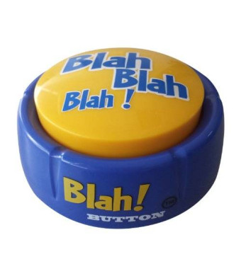 Blah! Button  (Features 12 Funny Phrase!)