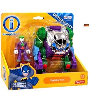 DC Comics Imaginext DC Gotham City Collection Exclusive Vehicle The Joker Suit
